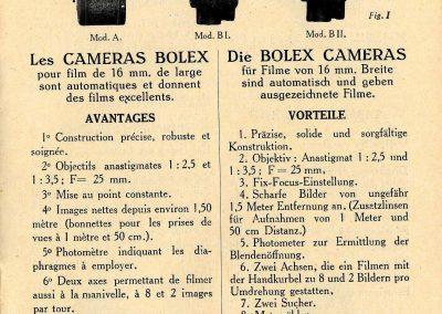 Bolex bilingual ad