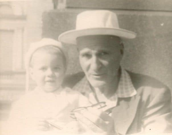 Isaac and daughter Galina